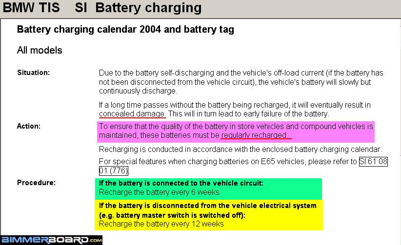 2001 740i Won't Start After Battery Died
