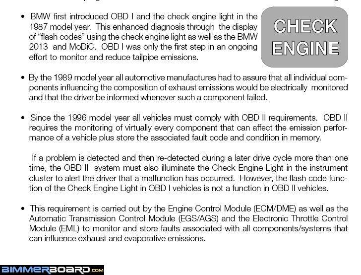 {Explanation Of OBD I U0026 OBD II}
