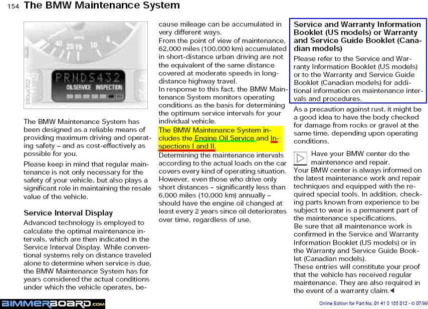 Inspection And Clock Symbol On Dash Bimmerfest Bmw Forums