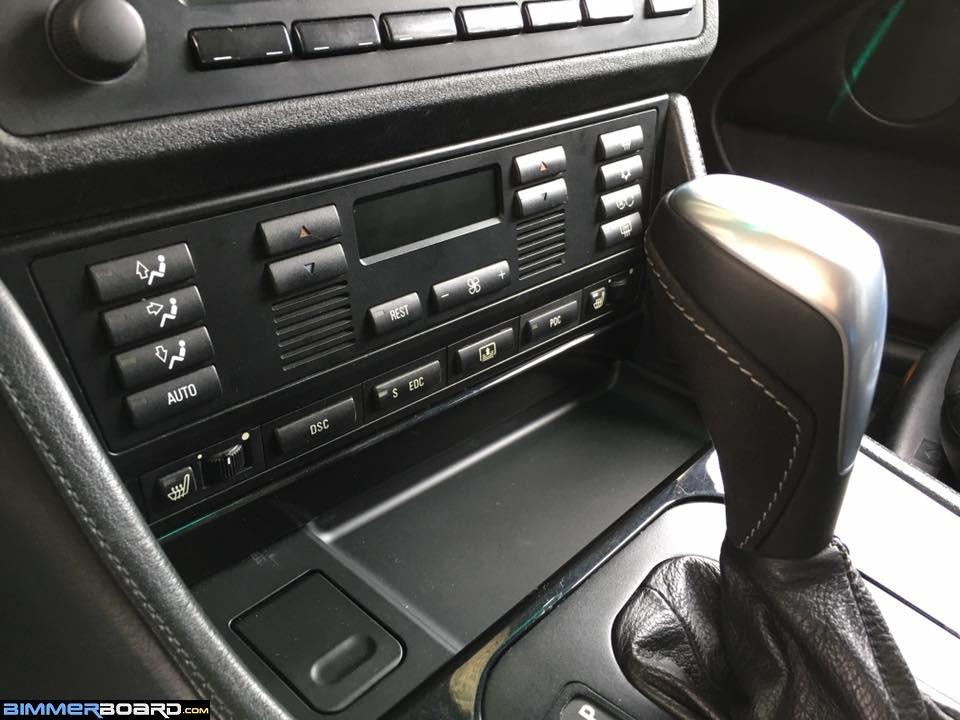 BMW e39 pre 99 full switch panel e70 x5 center console's switch buttons???