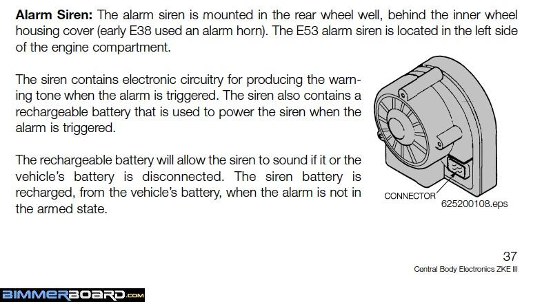 DWA Alarm Siren Location and Description can the lock unlock whistle sound be disabled? page 4  at creativeand.co
