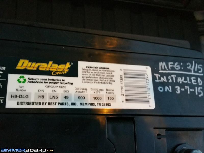 2000 E38 740il - which battery is best? - Bimmerfest - BMW Forums