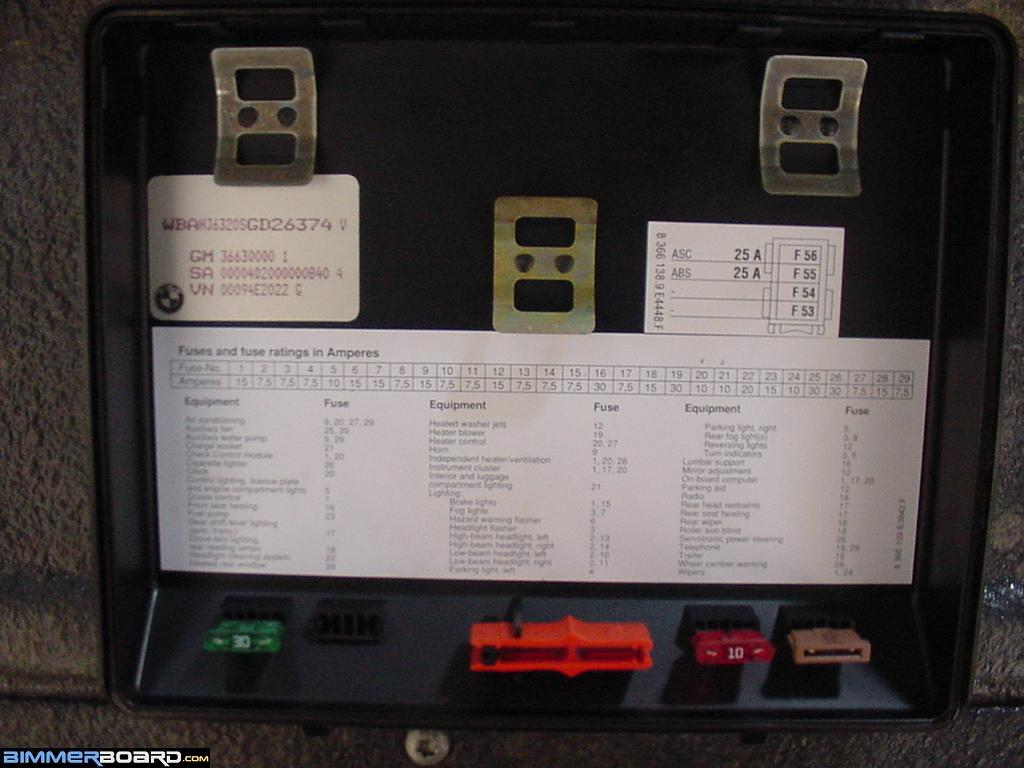 E34 Fuse Cvr Index front pdc failure bimmerfest bmw forums 1997 Ford Ranger Fuse Diagram at nearapp.co