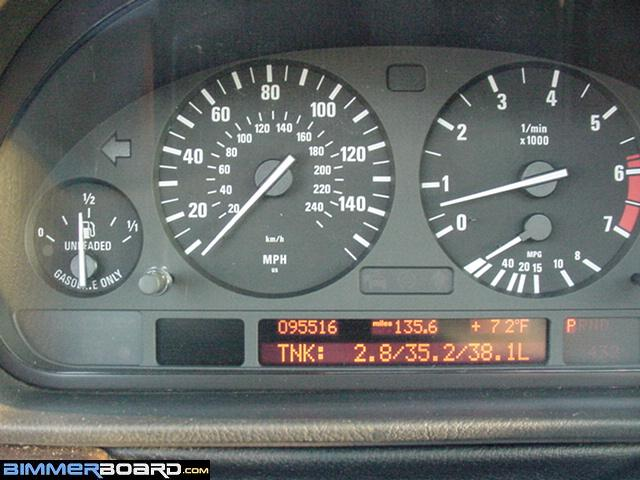 Gas Gauge Not Working >> Fuel Gauge Problem Bimmerfest Bmw Forums