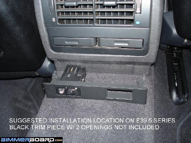 HS E39 Install Recommend heated rear seat retrofit kit e38 e39