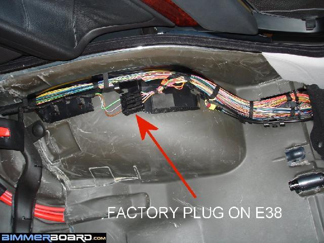 Heated rear seat RETROFIT kit - E38 / E39